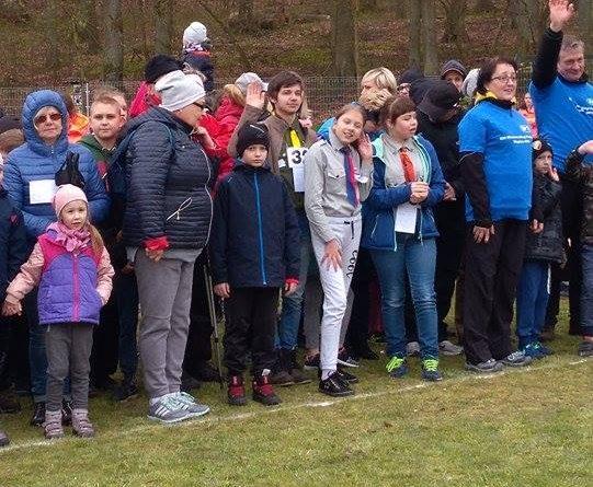 Harcerski Bieg Terenowy na XXI Wiosennych Biegach Przełajowych w Wapnicy