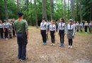 Obóz harcerski w Podgajach