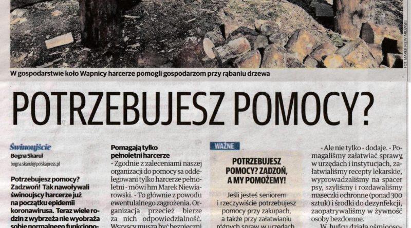 Głos Szczeciński o nas :)